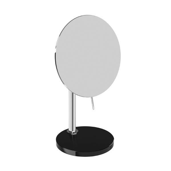 Pomd'or Heritage freestanding beauty mirror chrome/black