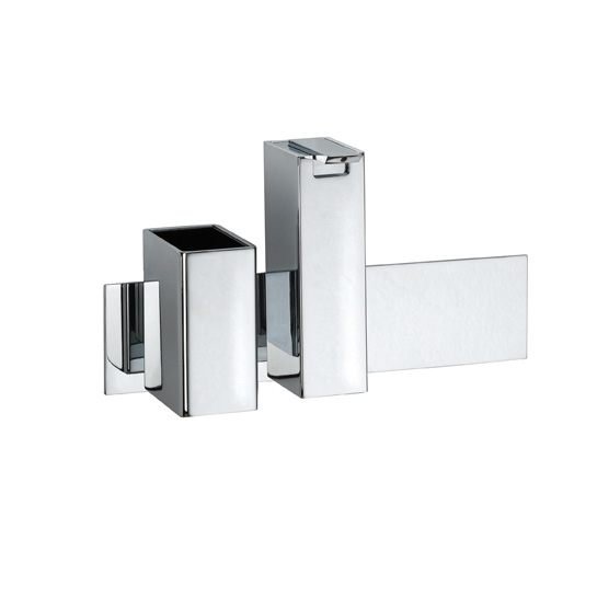 Pomd'or Jack wall-mounted set with tumbler and soap dispenser