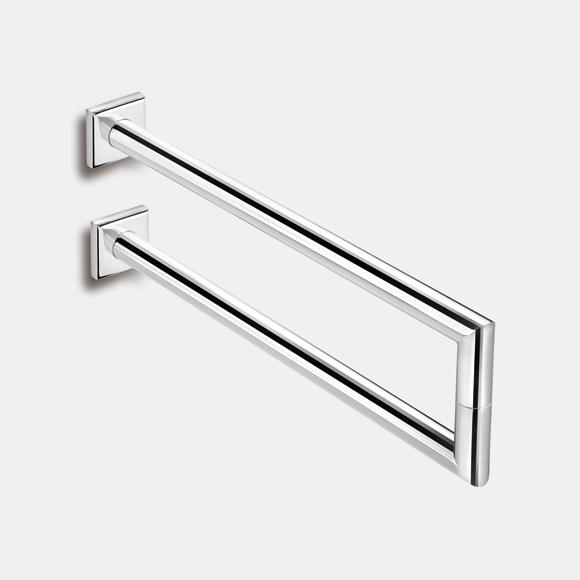 Pomd'or Kubic Class Double Towel Bar for screw-mounting