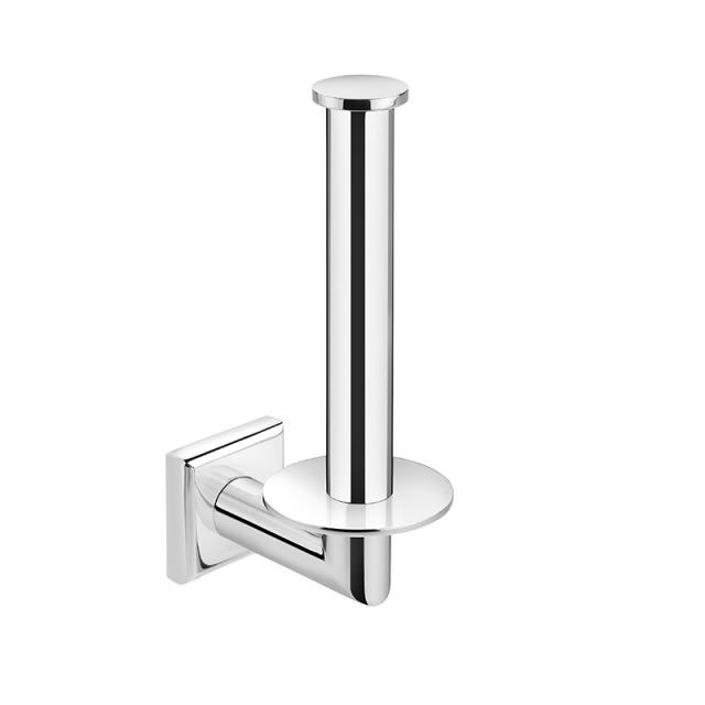 Pomd'or Kubic Class toilet roll holder for spare toilet roll suitable for gluing