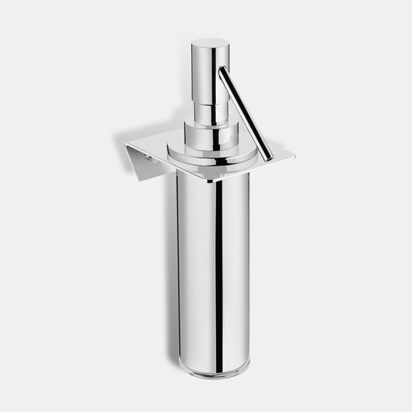 Pomd'or Kubic wall-mounted soap dispenser for screw-mounting