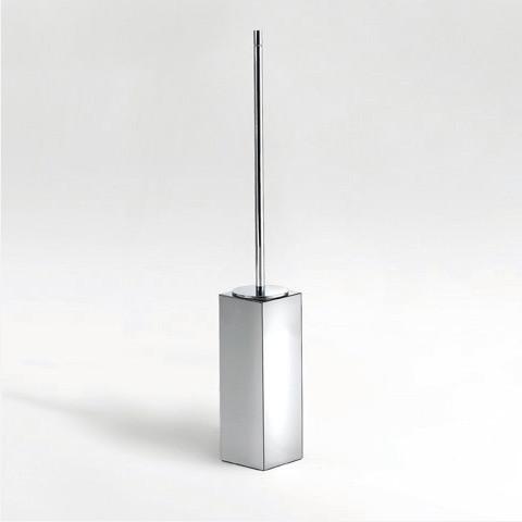 Pomd'or Metric freestanding toilet brush set chrome