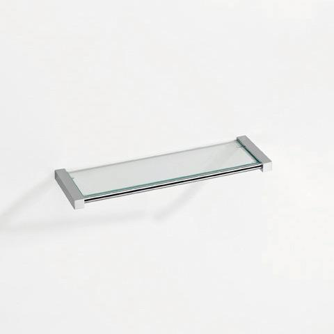 Pomd'or Metric glass shelf chrome