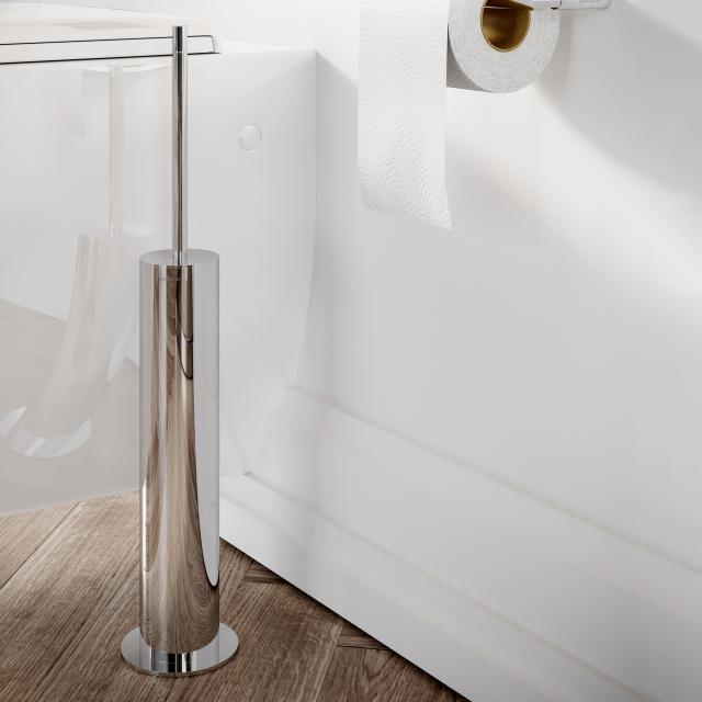 Pomd'or Micra freestanding toilet brush set