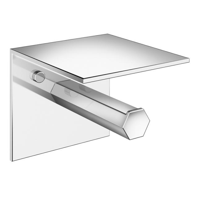 Pomd'or Mirage toilet roll holder with shelf