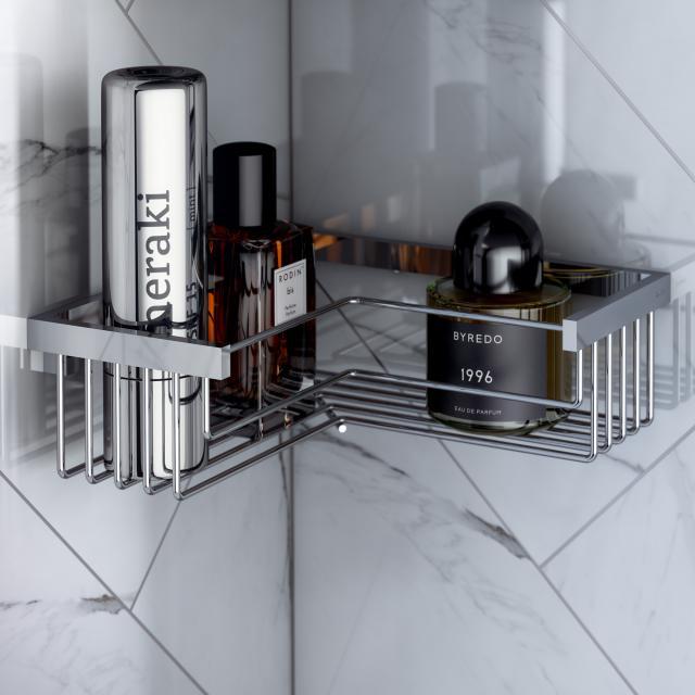 Pomd'or Universal corner shower basket, removable