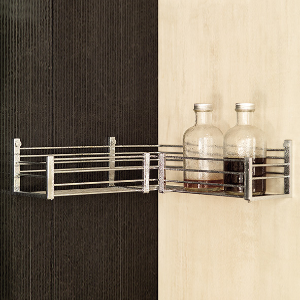 Pomd'or Lira corner shower basket