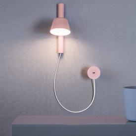 Prandina Bima W1 LED wall light with USB connection