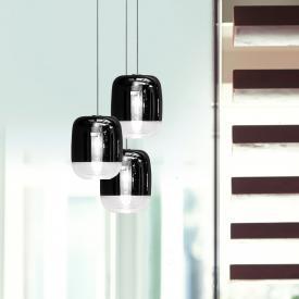 Prandina Gong Mini 3R LED pendant light 3 heads