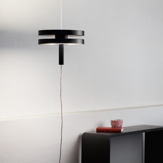 Prandina LED Machine S30 pendant light with supply cord