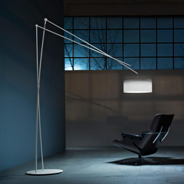 prandina Effimera F5 LED floor lamp with dimmer