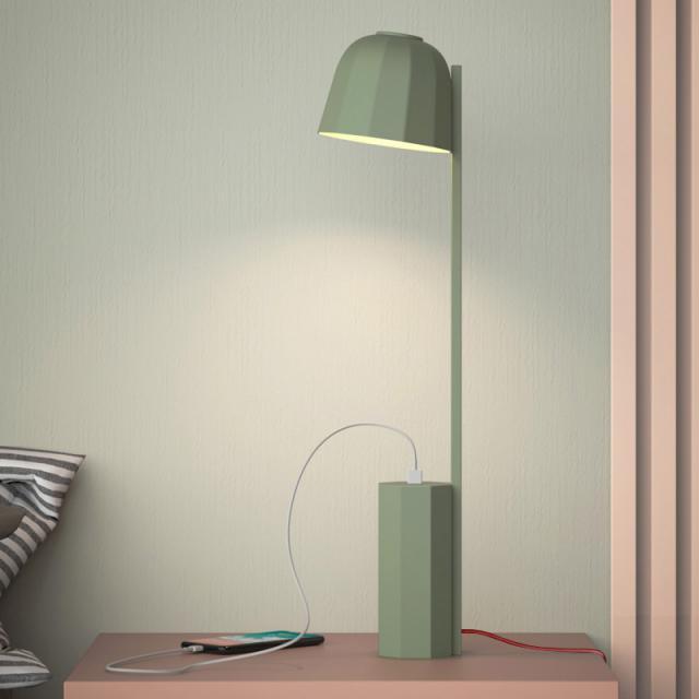prandina Novia T1 LED table lamp with USB connection