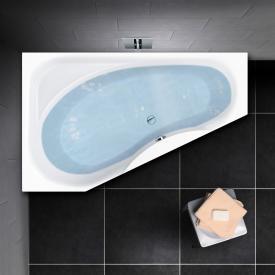 PREMIUM 100 compact bath with shelf surface length: 165 cm, width: 95 cm