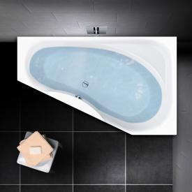 PREMIUM 100 compact bath with shelf surface length: 175 cm, width: 110 cm