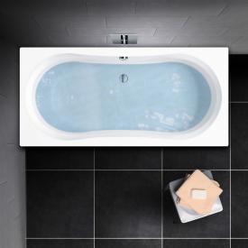 PREMIUM 100 Duo rectangular bath L: 180 cm, width: 80 cm, inside depth 43 cm