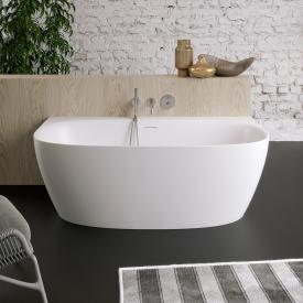 PREMIUM 200 back-to-wall bath with panelling length: 170, width: 80, height: 58 cm