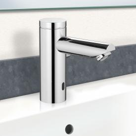 PREMIUM 400 electronic basin fitting with temperature control battery powered