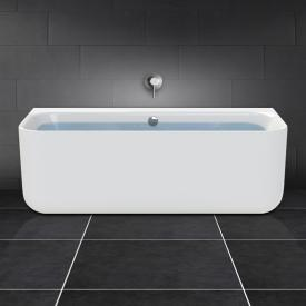 PREMIUM back-to-wall bath length: 180 cm, width: 80 cm without filling function