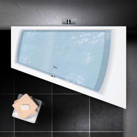 PREMIUM corner bath length: 180 cm, width: 129 cm