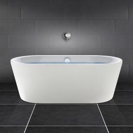 PREMIUM freestanding, oval bath length: 180 cm, width: 80 cm white