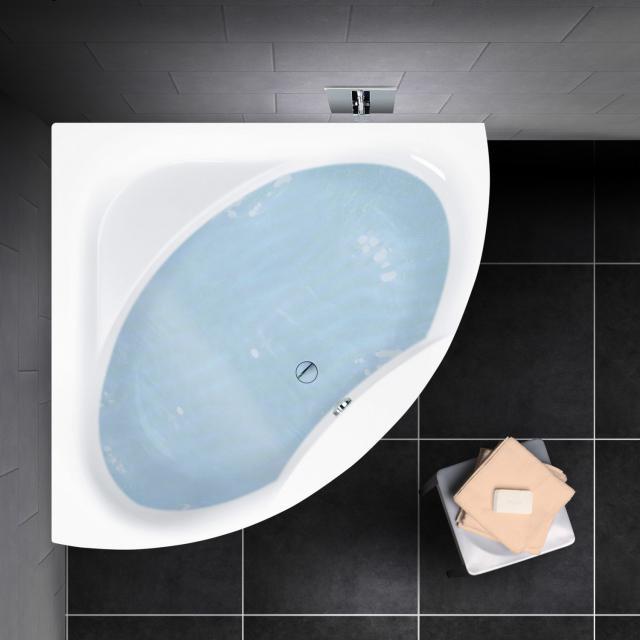 PREMIUM 100 corner bath, built-in L: 150 cm, width: 150 cm inside depth 46 cm