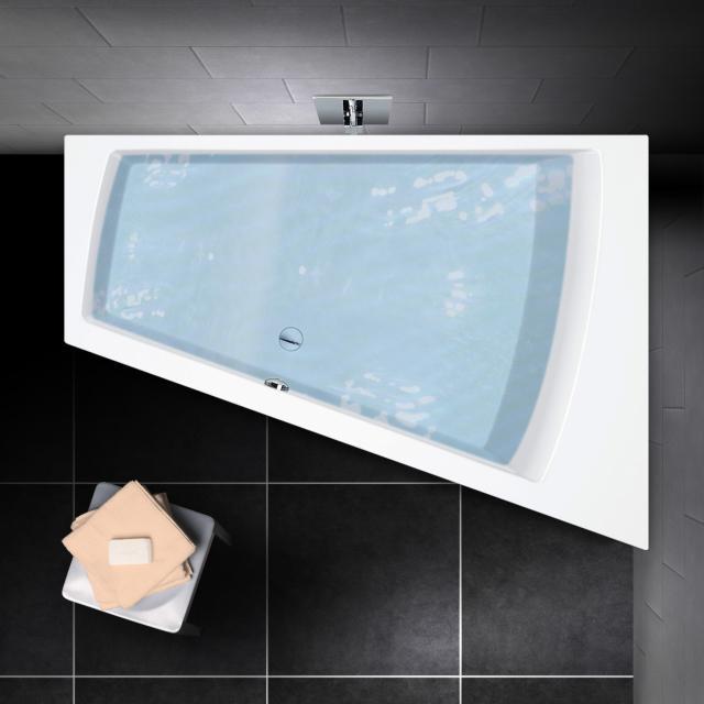 PREMIUM 100 corner bath, built-in L: 170 cm, width: 110 cm, inside depth: 46 cm