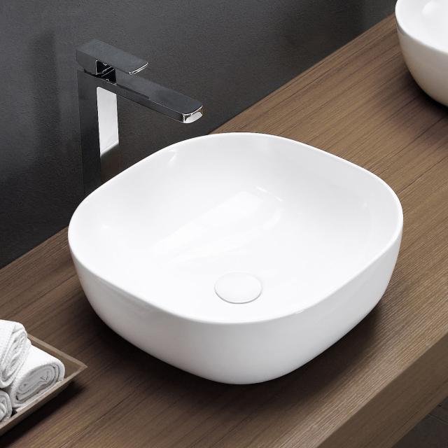 PREMIUM 100 countertop washbasin W: 42 H: 14 D: 42 cm