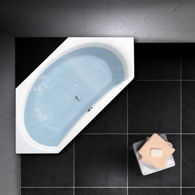 PREMIUM 100 hexagonal bath, built-in L: 195 cm, width: 90 cm