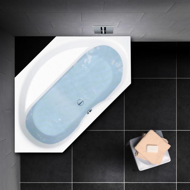 PREMIUM 100 hexagonal bath, built-in L: 204 cm, width: 108 cm