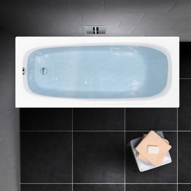 PREMIUM 100 Mono rectangular bath, built-in L: 170 cm, width: 75 cm, inside depth 40 cm