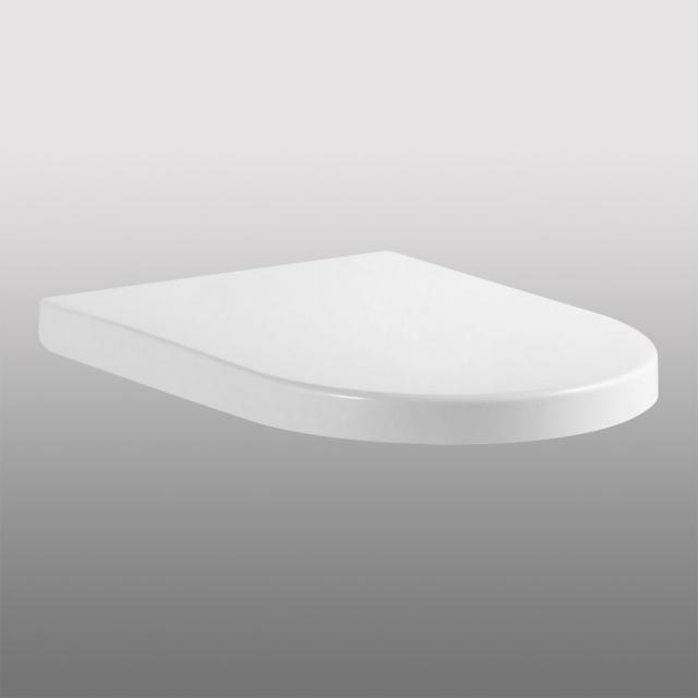 PREMIUM 100 oval toilet seat, removable, with soft-close