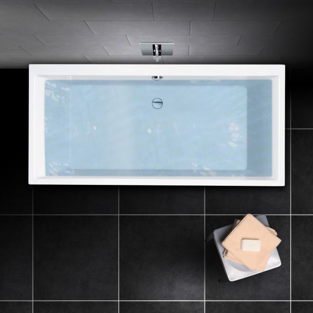 PREMIUM 100 rectangular bath, built-in L: 180 cm, width: 80 cm, inside depth: 46 cm