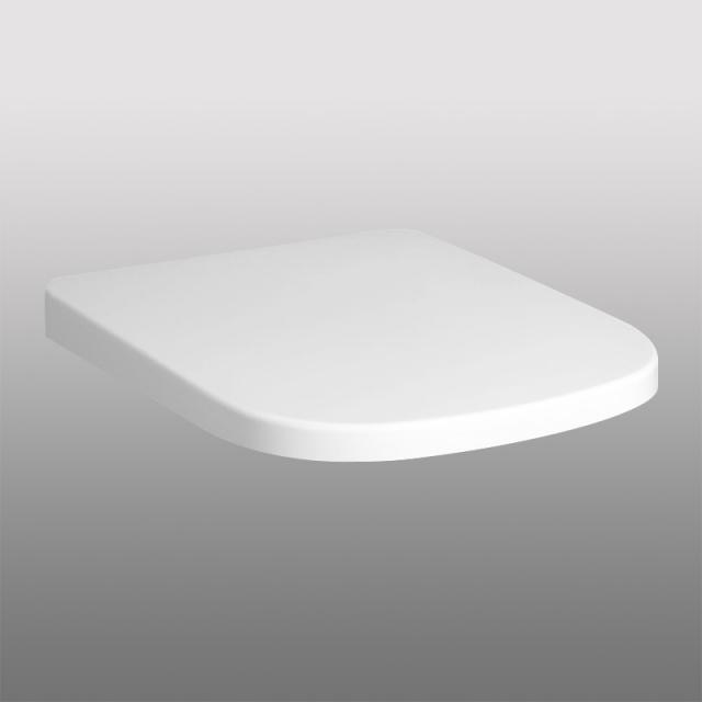 PREMIUM 100 square toilet seat, removable, with soft-close