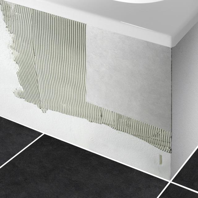 PREMIUM 100 support for compact bathn with shelf surface length: 175 cm, width: 110 cm