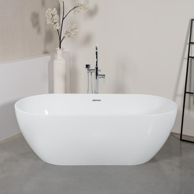 PREMIUM 200 freestanding oval bath L: 169 W: 80 H: 56.5 cm