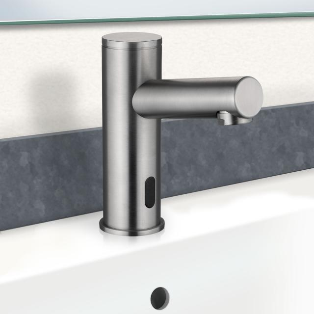 PREMIUM 400 electronic basin fitting electric mains-operated