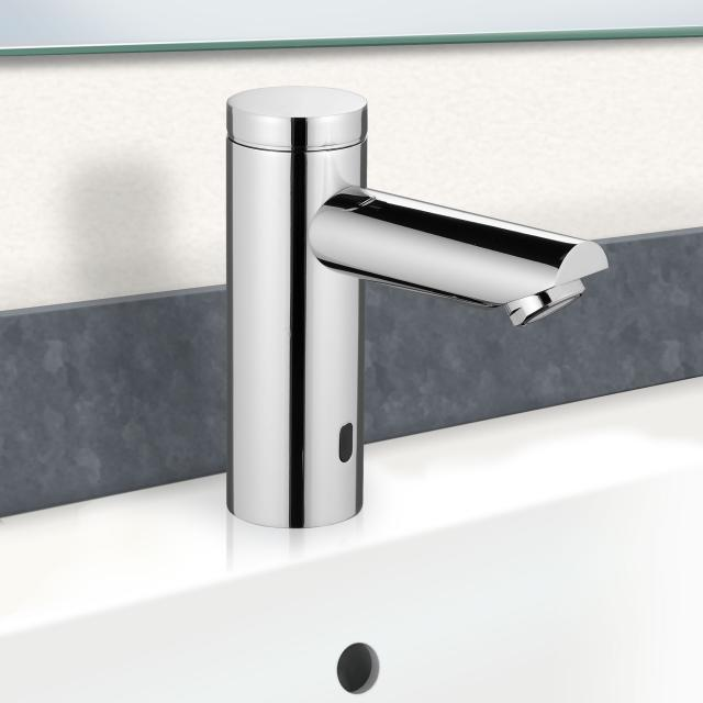 PREMIUM 400 electronic basin fitting electric mains operated