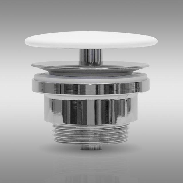 PREMIUM Universal waste valve without accumulation function, with ceramic cap