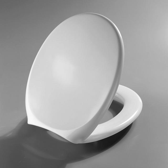 Pressalit 1000 toilet seat L: 43.5 - 45.5 cm W: 37.5 cm without soft-close