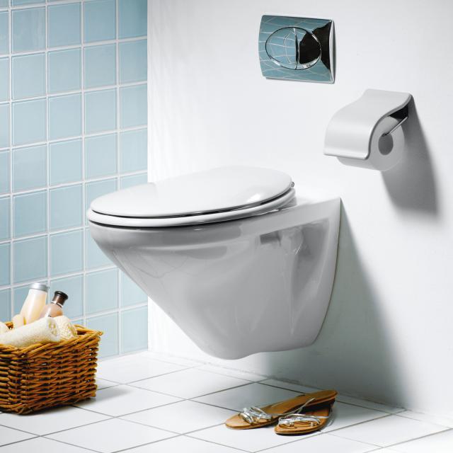 Pressalit 2000 toilet seat L: 40.8-44.1 W: 37 cm without soft-close