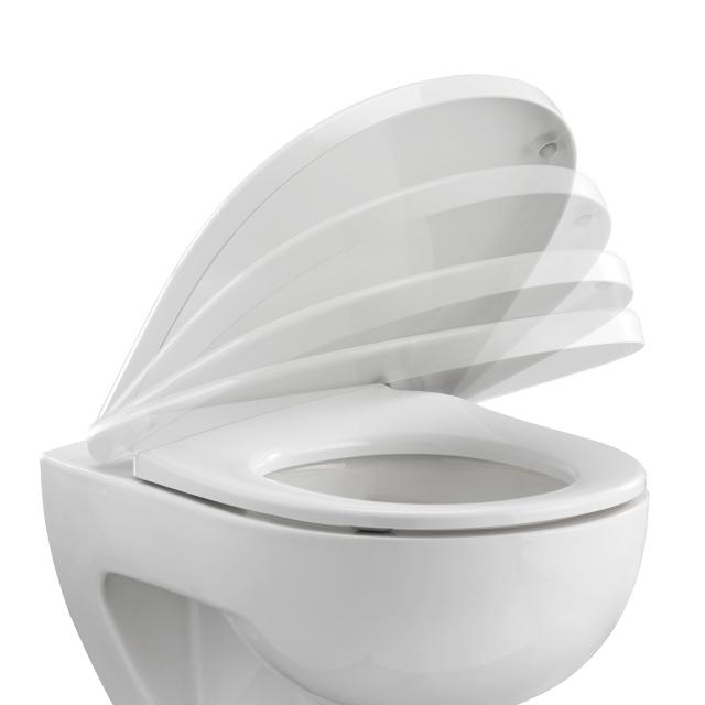 Pressalit I-Can toilet seat with lift-off and soft-close