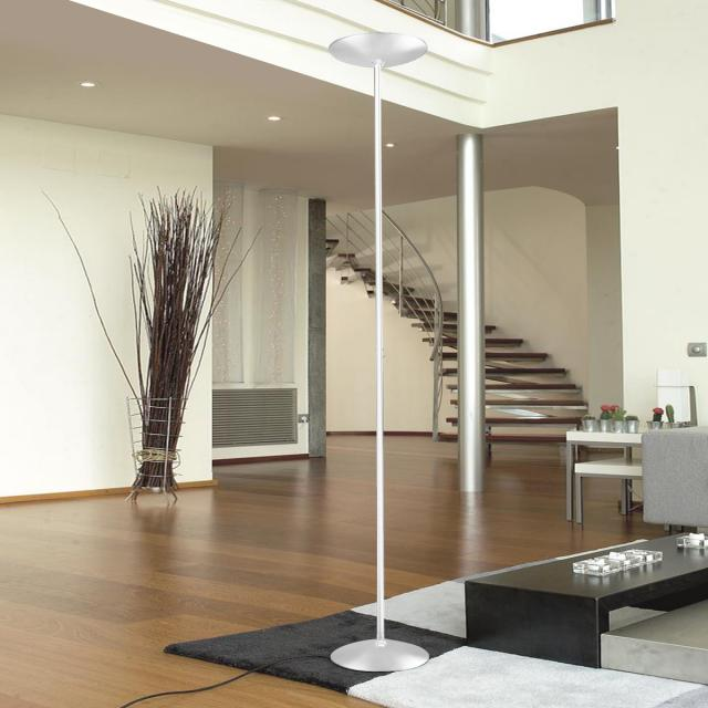 Pujol Gregal LED floor lamp with dimmer