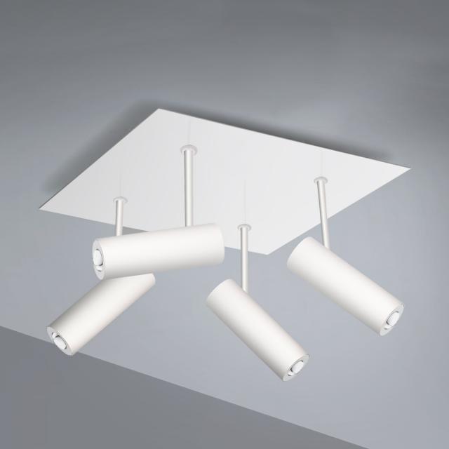Pujol Tub LED ceiling light 4 heads