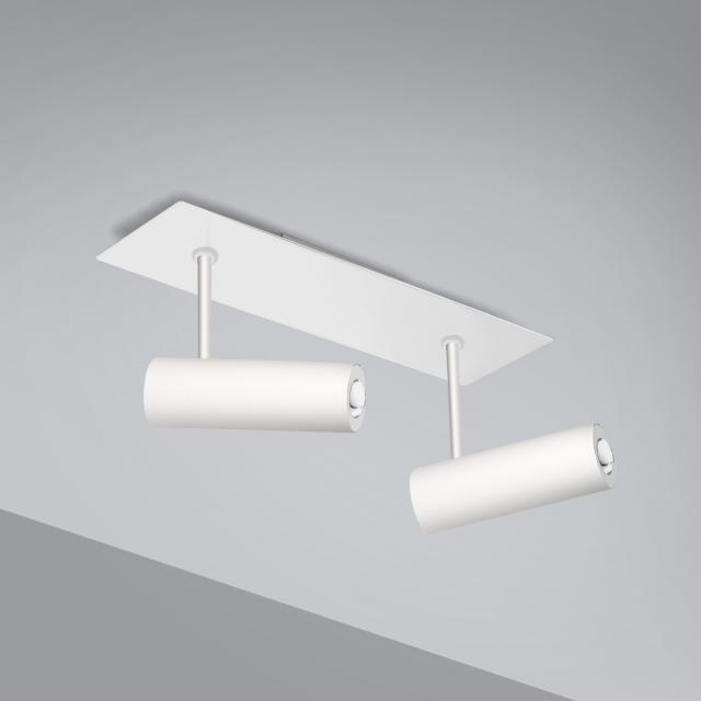 Pujol Tub LED ceiling light 2 heads