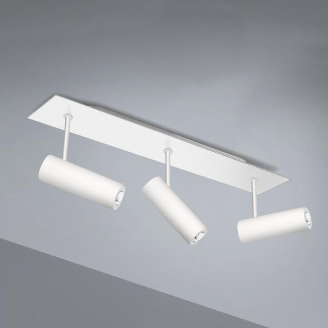 Pujol Tub LED ceiling light 3 heads