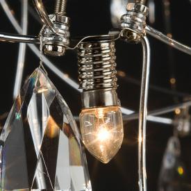 Quasar LED bulb, E10, dimmable