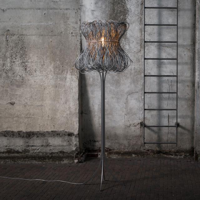 QUASAR Cloche floor lamp
