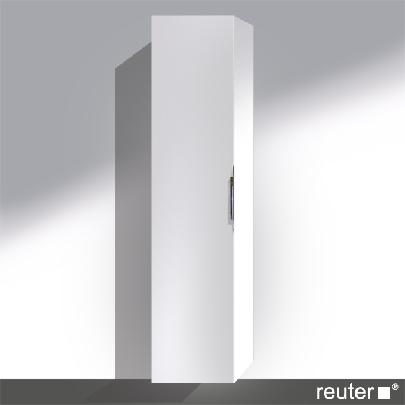 Reuter Kollektion System M01 tall unit front white high gloss lacquer / corpus white high gloss lacquer