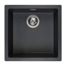 Reginox Amsterdam 40 kitchen sink metallic black