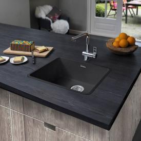 Reginox Ohio kitchen sink midnight black